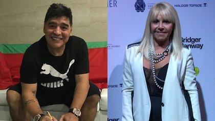 Otra batalla de la guerra entre Maradona y Villafañe que promete continuar.