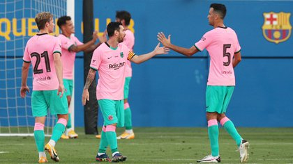 Con dos goles de Messi, el Barcelona de Ronald Koeman