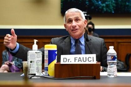 El principal epidemiólogo de la Casa Blanca, Anthony Fauci. Kevin Dietsch/Pool via REUTERS