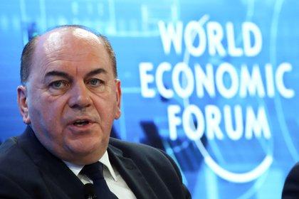 Axel Weber, UBS Chairman of the Board of Directors, en la 50 reunión anual del World Economic Forum (WEF) en Davos (Reuters)