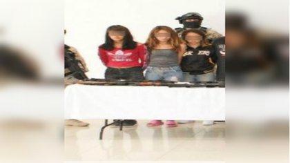 Junto con las jóvenes del CJNG detenidas en Guanajuato en agosto, había también dos hombres menores de edad (Foto: archivo)