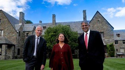 Martin Kulldorff, Sunetra Gupta y Jay Bhattacharya. Declaración De Great Barrington (@aleslogo)