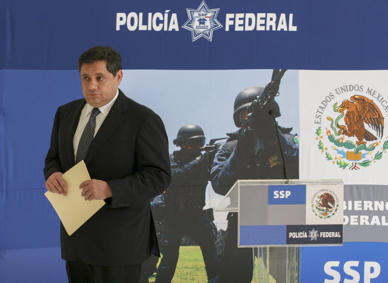 Ramón Pequeño, ex jefe de la División de Inteligencia de la Policía Federal habría colaborado con el Cártel de Sinaloa  (Foto: ARCHIVO /SAÚL LÓPEZ /CUARTOSCURO)