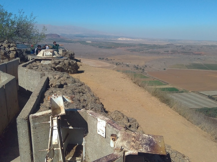 En el Monte Hermón hay más de 1.000 soldados de Israel custodiando la zona fronteriza con Siria