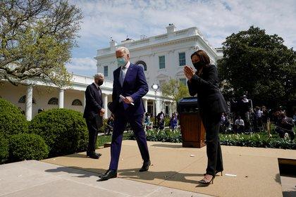 Joe Biden y Kamala Harris. REUTERS/Kevin Lamarque     TPX IMAGES OF THE DAY