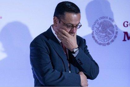 Germán Martínez Cázares presentó su renuncia ante el Consejo Técnico del IMSS este martes (Foto: Cuartoscuro)