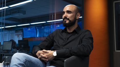 Abel Pintos (Foto: Santiago Saferstein)