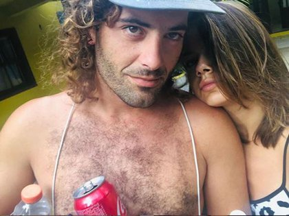 Natalie Pérez y Ramiro Gayoso (Foto: Instagram)