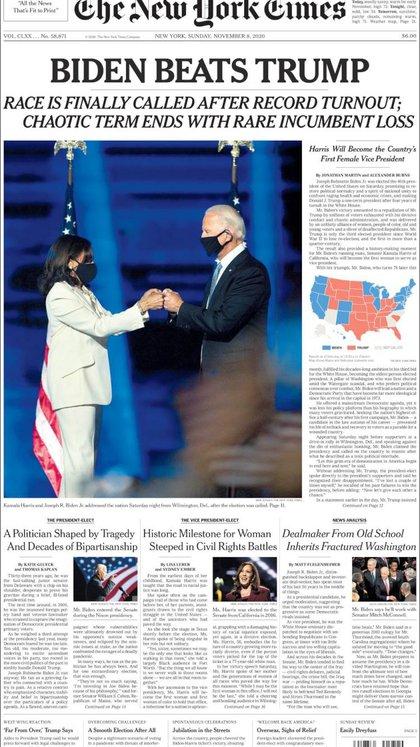 """""""Una palabra confusa acabó con una derrota extraordinaria en la presidencia"""", Destacó el periódico de Nueva York"""
