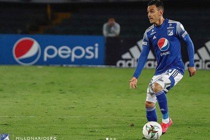 Santiago Montoya, volante creativo de Millonarios. (Foto Millonarios FC)