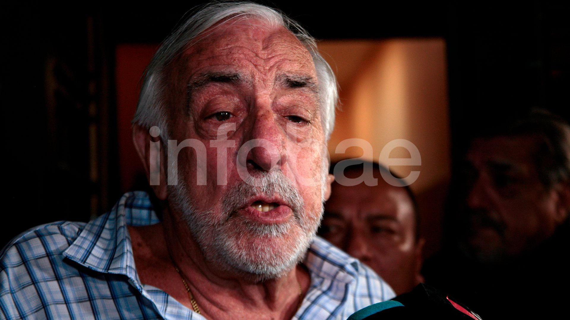 Roberto Fernández de la UTA  (Luciano González)