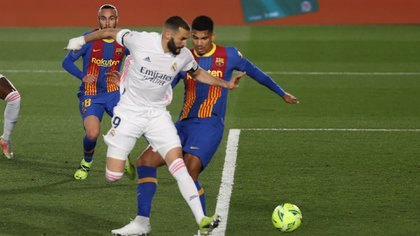 Benzema - Barcelona Real Madrid