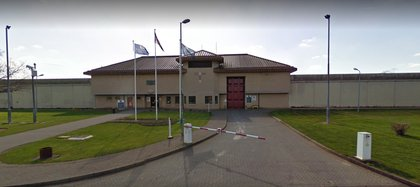 La cárcel de Bullington, en el Reino Unido (Foto: Google Street View)
