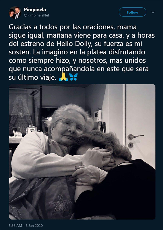 El conmovedor posteo de Lucía Galán, con su mamá