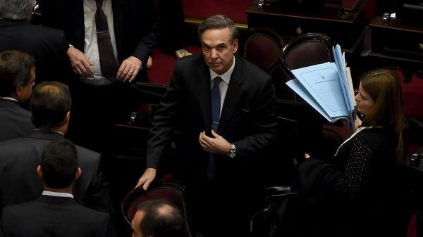 Miguel Ángel Pichetto será uno de los senadores que acudirá a Casa Rosada (Nicolás Stulberg)
