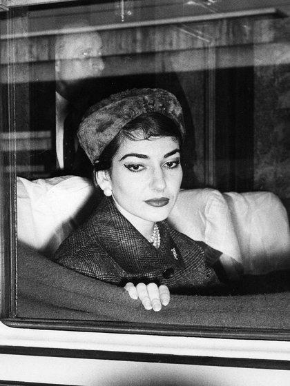 Maria Callas (AFP)