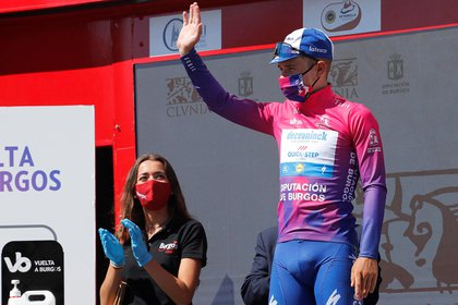 El joven corredor belga Remco Evenepoel (Deceuninck Quick Step) EFE/ Santi Otero