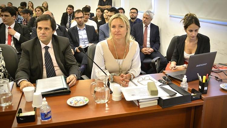 La fiscal Daniela Dupuy, encargada de la acusación (Gustavo Gavotti)