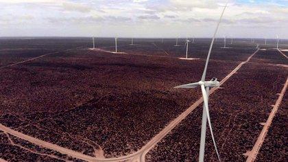 El parque eólico de Puerto Madryn