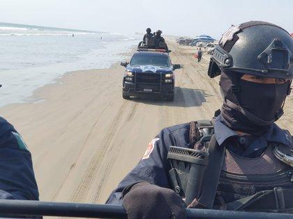 Policía Estatal de Sinaloa (Foto: Twitter/@sspsinaloa1)