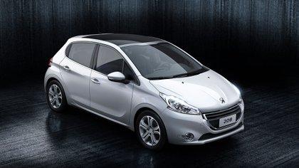 La primera generación del 208 fue un éxito comercial en sus primeros años (Peugeot)