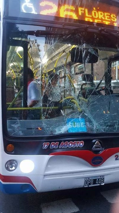 El colectivo de la línea 26 que atropelló y mató a Isabel Arce Vera