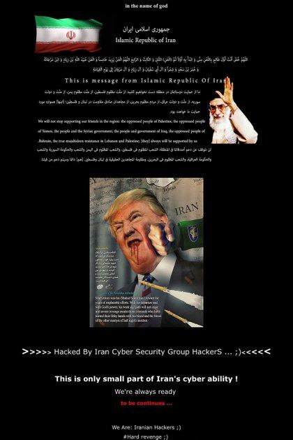 Charming Kitten estuvo antes interesado en el presidente de los Estados Unidos, Donald Trump; la Organización Mundial de la Salud (OMS) y reguladores nucleares de energía nuclear (ww.fdlp.gov Federal Depository Library Program/ AFP)