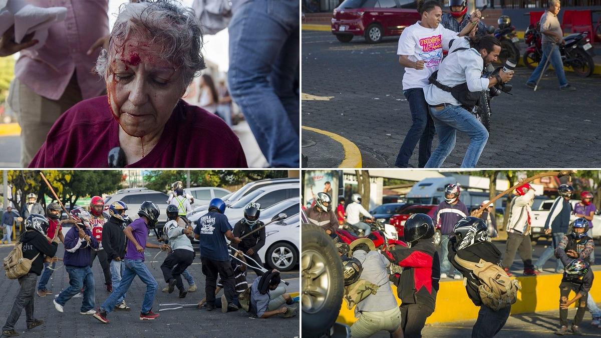 Resultado de imagen para nicaragua represion