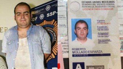 """Roberto Mollado Esparza, el """"Betito"""", líder del grupo criminalLa Unión de Tepito."""