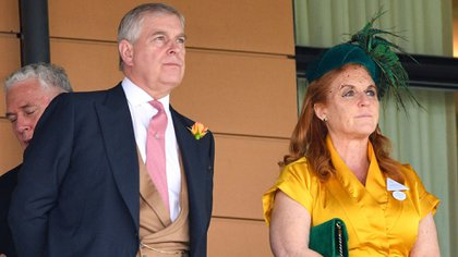 El príncipe Andrés y Sarah Ferguson, duquesa de York. Mandatory Credit: Photo by Tim Rooke/Shutterstock