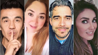 Omar Chaparro, Anahí, Sherlyn y Adrián Uribe se mantienen cercanos a su público a través de las redes sociales (Instagram)