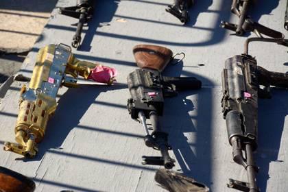 La mayoría de las armas ilegales en México provienen de Estados Unidos e ingresan por la frontera norte (Foto: JUAN CARLOS CRUZ /CUARTOSCURO)