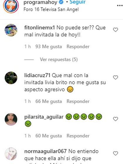 Agrega comentarios negativos en Instagram