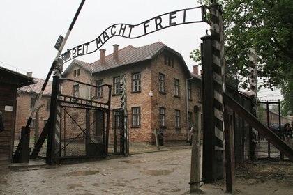 El centro de confinamiento de Auschwitz, símbolo de la masacre de judíos por el nazismo (Juan Berretta)