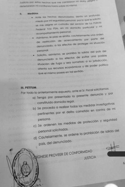 La denuncia contra el senador tucumano