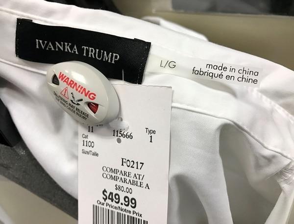 Tras boicot, Ivanka Trump deja su marca de moda