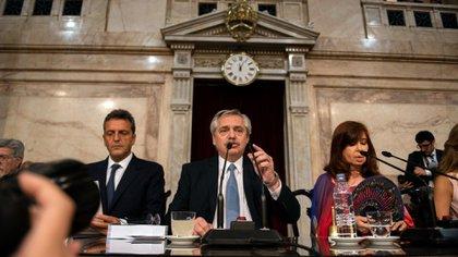 Alberto Fernández anunció la creación de un nuevo fuero federal (Adrián Escandar)