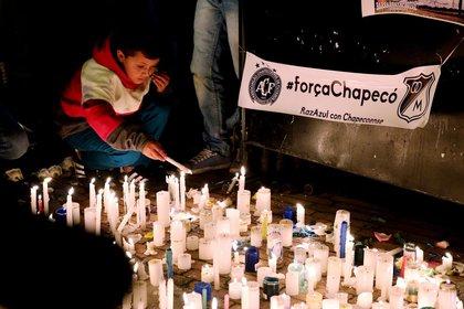 El homenaje en Bogotá (EFE)