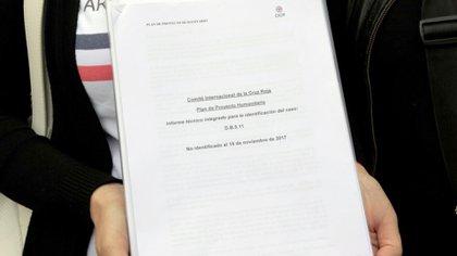 El informe elaborado por el Equipo de Antropología Forense