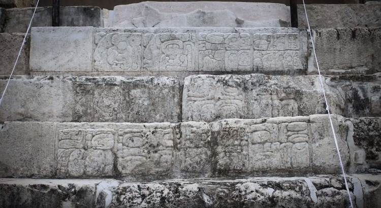 Uno de los elementos arquitéctónicos sobre el que se puso mayor atención en la digitalización fue la Escalinata Jeroglífica que se encuentra en el Palacio. (Foto: Google Arts & Culture)