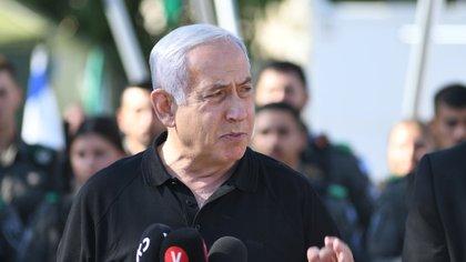 """Benjamin Netanyahu: """"Hamas no puede escapar, esto no terminó"""""""