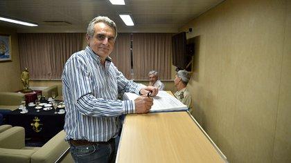 El ministro de Defensa, Agustín Rossi (Gustavo Gavotti)