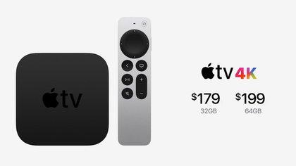Se presentó una nueva generación de Apple TV