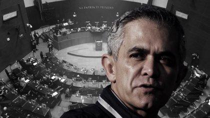 Miguel Ángel Mancera propuso la iniciativa ante la Comisión Permanente del Congreso mexicano (Fotoarte: Steve Allen/ Infobae México)