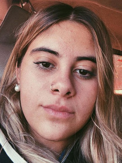 La joven de 17 años tenía un perfil muy activo en las redes sociales (Instagram: @melllchu)