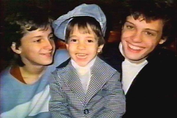 Alex, Sergio y Luis Miguel (Gentileza Quién)