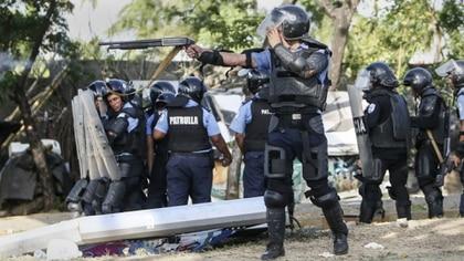 Represión en Nicaragua.