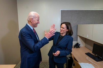 La llegada de Kamala Harris para acompañar a Joe Biden le dio un impulso importante a la campaña de los demócratas. EFE/Biden Campaign/Adam Schultz