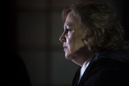 La viuda de Escobar asegura que fue víctima de amenazas por parte de los enemigos de su marido (Guille Llamos)