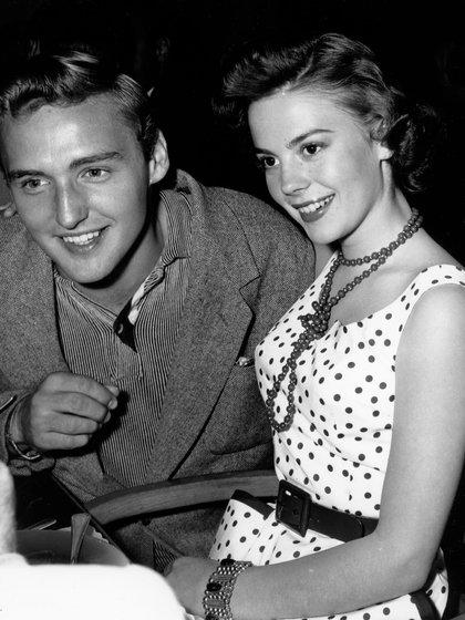 Natalie Wwood y Dennis Hopper (Shutterstock)